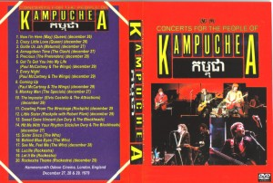 Concert for Kampuchea dvd cover and back