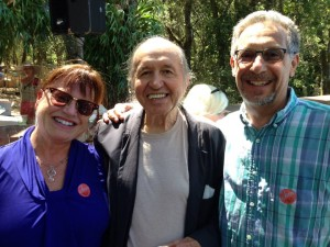 debbie, me and bob dorough