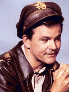 HOGAN'S HEROES   Bob Crane as Colonel Robert E. Hogan    John Banner as Sergeant Hans Georg Schultz   © TV Land, a business unit of MTV Networks, a division of Viacom International Inc.